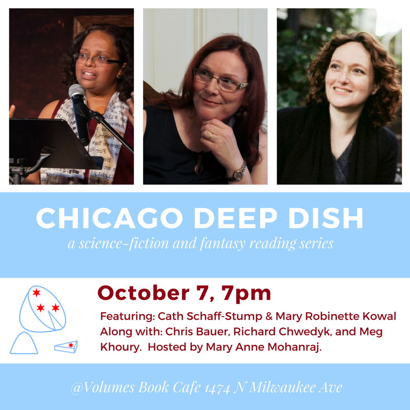 Deep Dish Reading Sat 10/7!