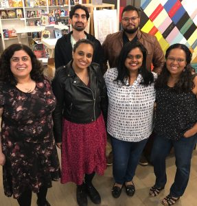 A group shot of the May 2019 readers