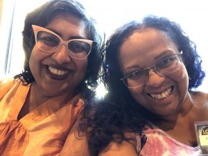 Minal Hajratwala and Mary Anne Mohanraj